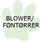 Blower/føntørrer
