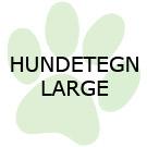 Hundetegn - Large