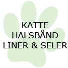 Kat - Halsbånd, liner m.m.