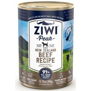 ZiwiPeak vådfoder Beef - 390 g.