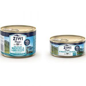 ZiwiPeak Mackerel & Lamb vådfoder til kat - 185 g.